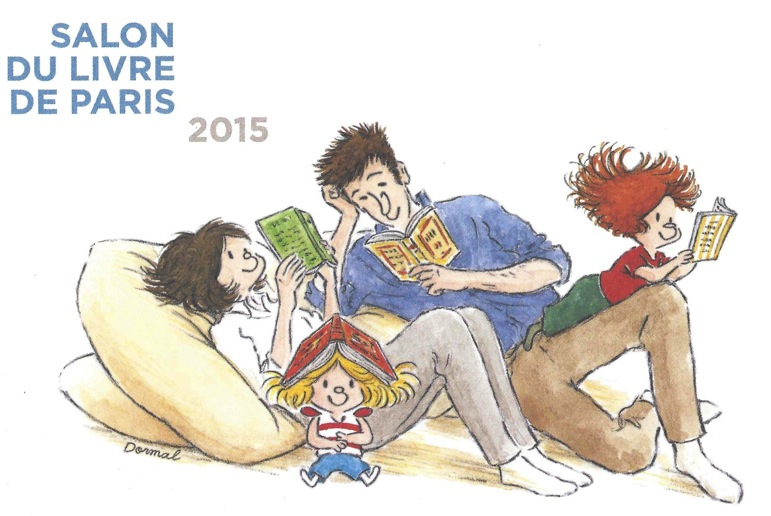 salon du livre paris 2015